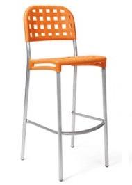 Стул барный Globo оранжевый